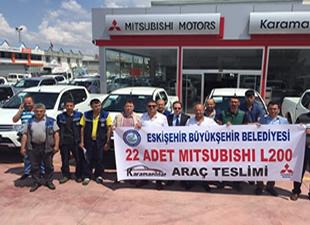 Mitsubishi'den Eskişehir'e L200