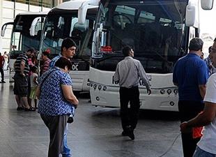 Bayram için 10 bin ek otobüs