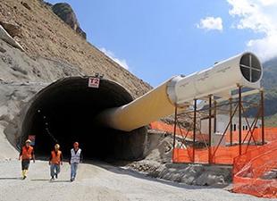 Ovit Tüneli'nin yüzde 70'i tamamlandı!