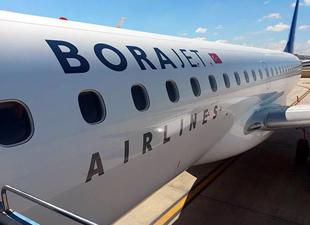 Borajet'in 10'uncu uçağı Sabiha Gökçen'e indi