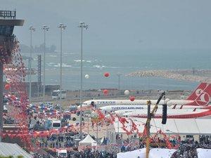 Ordu-Giresun Havalimanı'na ilgi artıyor