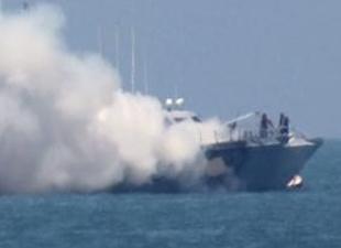 IŞİD savaş gemisine saldırdı