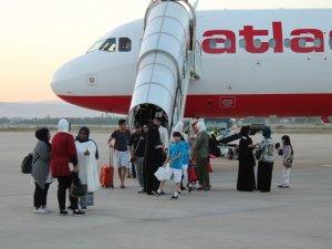 Kuveyt- Bursa uçuşları başladı