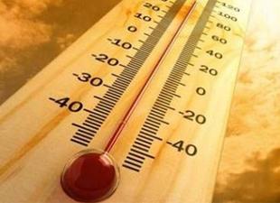 Sıcaklık 40 dereveyi aşacak