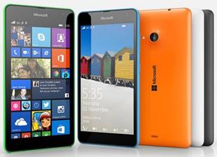 Microsoft'tan yeni Lumia