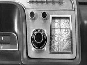 Ford'un ilk navigasyon sistemi
