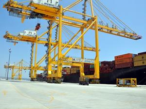 MSC Roberta, Asyaport Limanı'na yanaştı