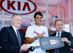 Nadal 2020'ye kadar Kia'yla