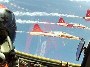 Türk Yıldızları Yozgat'ta prova yaptı