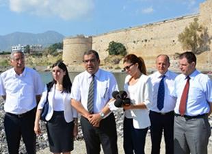 Girne Antik Liman için Turizm bakanlığı harekete geçti