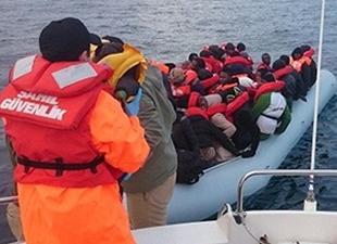 Çanakkale'de 217 kaçak göçmen yakalandı