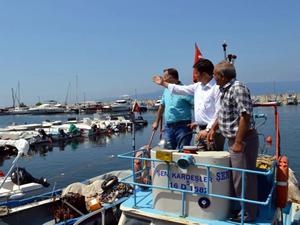 Kurşunlulu balıkçılar, barınaklarının satılmasına tepkili