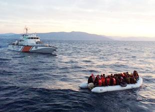 Sahil Güvenlik Çanakkale'de 24 saatte 500 kaçak yakaladı