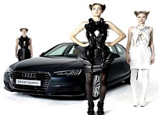 Giyilebilir Audi A4!