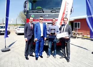 Tork'un tercihi yine Volvo Trucks