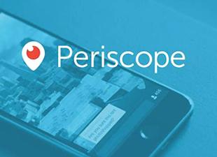 """Periscope'de yeni özellik: """"Sessize al"""""""