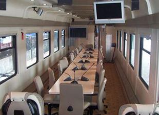TCDD'den Konferans vagonu