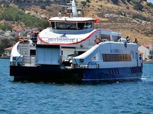 İzmir Büyükşehir Belediyesi Foça'ya vapur seferleri başlatıyor