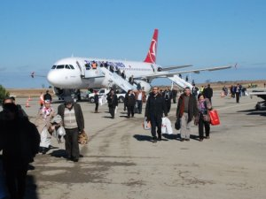 Sinop'ta yolcu sayısı arttı