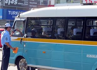 Zabıtadan minibüsçülere 'klima' cezası