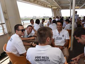 Piri Reis Üniversitesi Eğitim Gemisi Rize'de