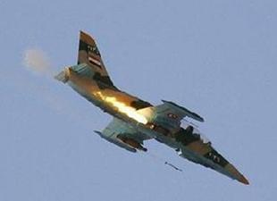 Sınırda Suriye uçağı düştü: 12 ölü