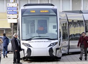 Kocaeli tramvayı için imzalar atıldı