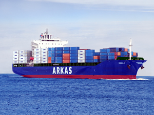 Hanjin Shipping'in gözde acentası: Arkas Denizcilik