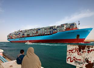 Yeni Süveyş Kanalı yarın hizmete giriyor