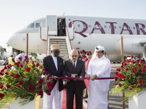 Qatar Airways, baharat adası Zanzibar'a iniyor