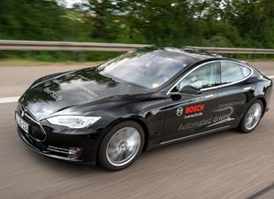 Bosch otonom sürüşü geliştiriyor
