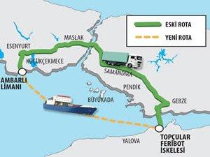 İDO'nun Ro-Ro Terminal Projesi, İstanbul trafiğini rahatlatacak