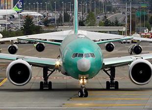 THY'nin yeni B777'si havalandı