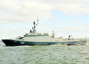 Rusya'nın yeni füze gemisi testlere başladı