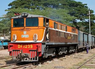 Myanmar Demiryolları gelişmeye devam ediyor