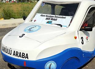 Üniversite öğrencileri 'elektrikli otomobil' üretti