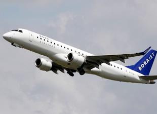 Borajet'in yeni uçağı Sabiha Gökçen'e indi
