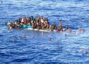 Akdeniz'de yine göçmen faciası: 40 kişi boğuldu