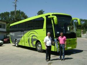 Temsa Euro 6 HD12 Portekiz yollarında