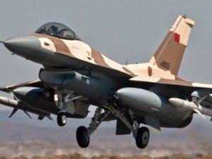 Fas'ta savaş uçağı düştü