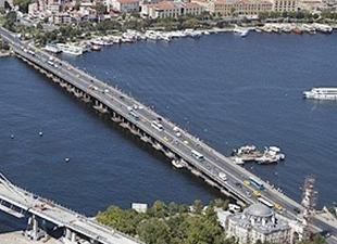 Haliç Köprüsü metrobüs yolu bakıma alınıyor