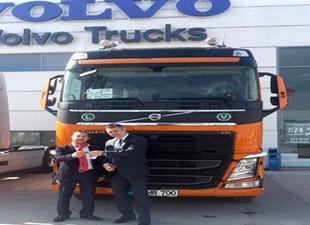 Yüzgüllü ve Volvo Trucks'tan işbirliği