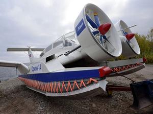 Rusya 'ekranoplan' üretimine yeniden başlıyor