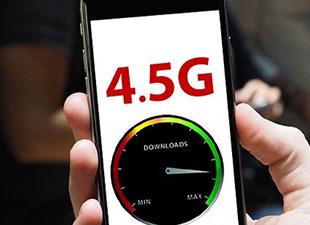 """Mobil iletişimde """"4.5G"""" için geri sayım başladı"""
