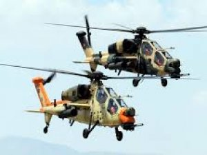 Türk helikopteri Polonya'da