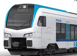 Stadler-Newag ortaklığında üretilen trenler tanıtıldı