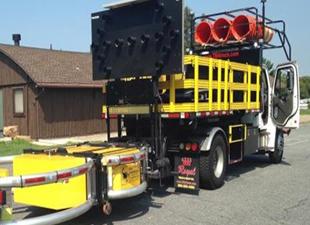 ABD şoförsüz kamyonu yol yapımında kullanılacak