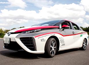 Hidrojenli Toyota rallide yarışacak