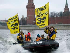 Greenpeace gemisine el koyan Rusya'ya tazminat cezası