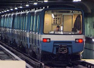 Montreal metrosuna yeni trenler geldi